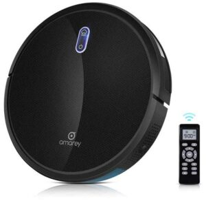 amarey 1400pa 360 Customizable Robotic Vacuum Cleaner.