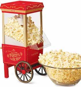 Nostalgia Electrics Hot Air Popcorn Maker