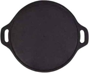 Rock Tawa Dosa Tawa 12 Inch Pre-Seasoned Cast Iron
