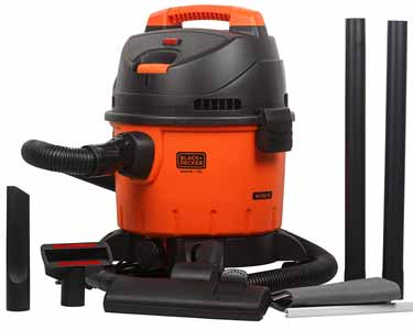 BLACK+DECKER High Suction Wet and Dry Vacuum Cleaner
