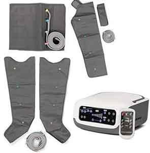 4beauty Leg Massager,Electric Air Compression Leg Massager Leg Wrap Foot A