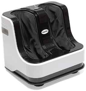 AGARO 33159 Relaxing Foot & Calf Massager with Rolling & Kneading Functions for Pain Relief