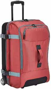 AmazonBasics Rolling Travel Duffel Bag Luggage with Wheels