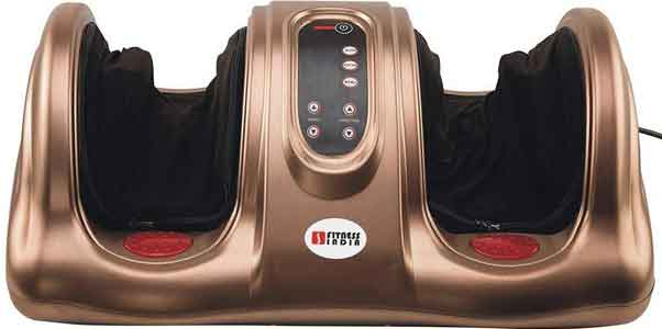 FITNESS INDIA Foot Calf Arm Massager Kneading for Pain Relief & Blood Circulation with Remote