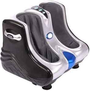 Fitness_Hub 3D Kneading,Rolling,Vibration,Heating Foot Calf Massager