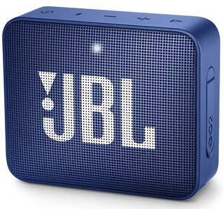 JBL Go 2, Wireless Portable Bluetooth Speaker with Mic