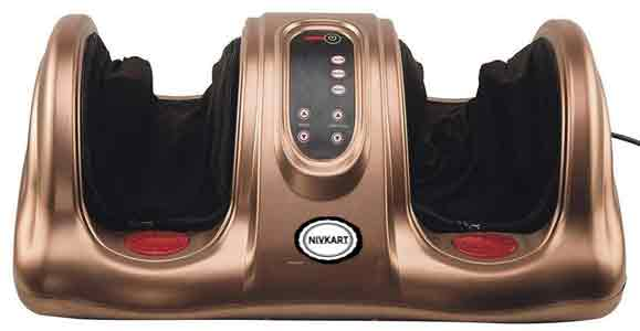 Nivkart® niv025 FOOT MASSAGER WITH HEAT AND REMOTE