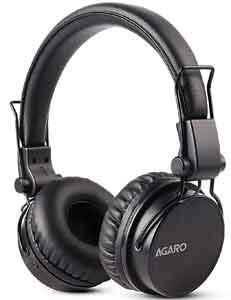 AGARO - 33327 Fusion On-Ear Bluetooth Headphones with Mic