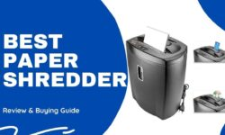 Best Paper Shredder in India 2021- Review & Buying Guide