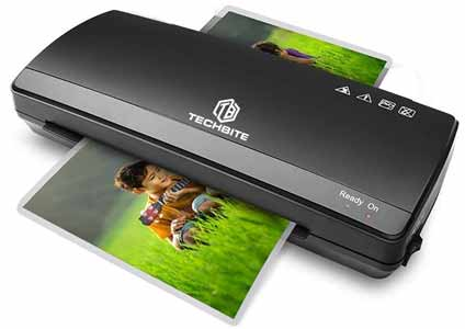 TECHBITE Rugged Thermal - Cold Laminator for Home and Office Use A4 -  A3 Size Lamination