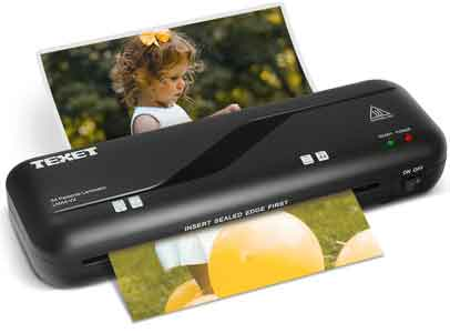 Texet LMA4-VX A4 Laminating Machine Fully Automatic Portable All in One Laminator