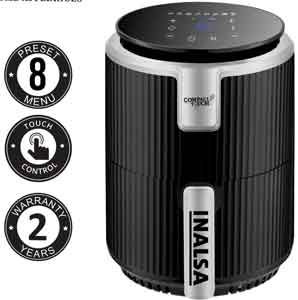 Inalsa Air Fryer Digital Compact Touch